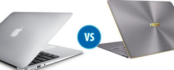 combate macbook air vs asus zenbook 3 deluxe