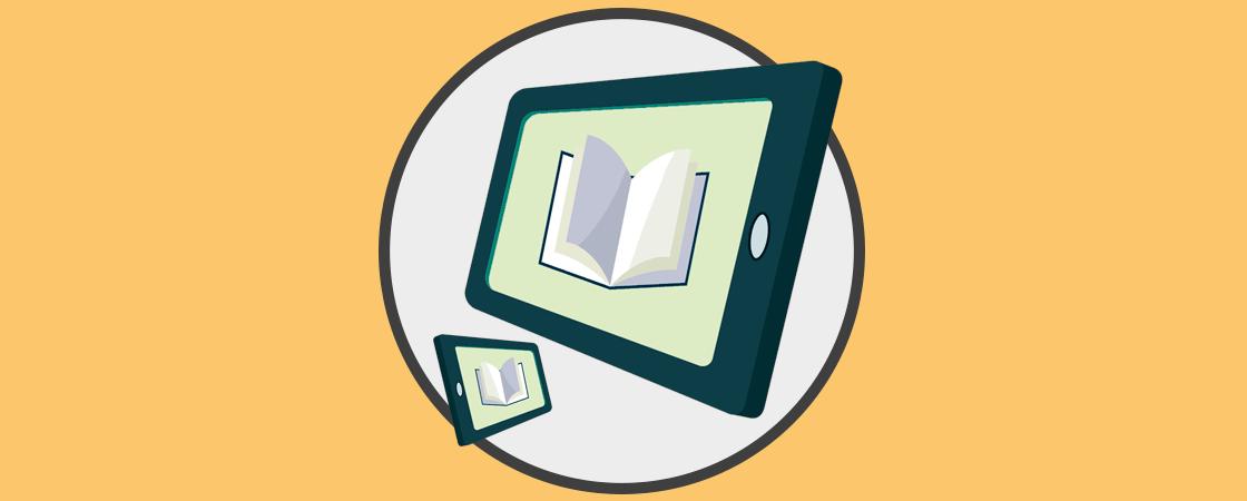 Resultado de imagen para Lector de ebooks en el celular