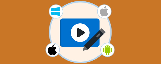 editores vídeo mac windows android y iphone