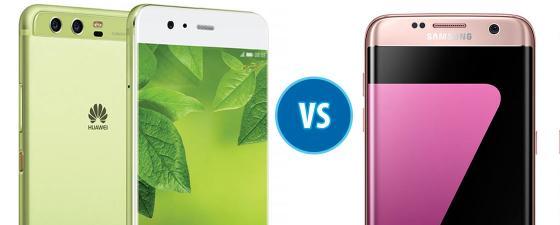 combate Huawei P10 vs Samsung Galaxy S7