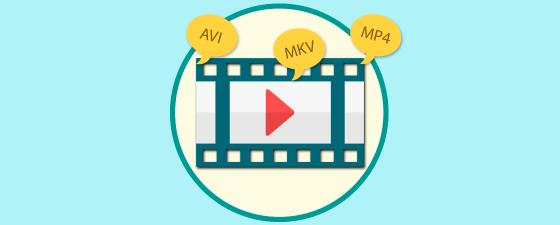 diferencias formato videos