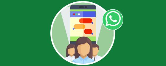 descripción en chats de grupo de whatsapp