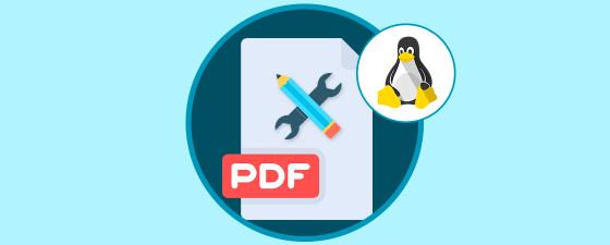 pdf linux editar