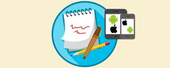 aplicaciones tomar nota movil y tablet