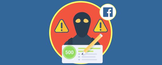 estafa cheques primark facebook