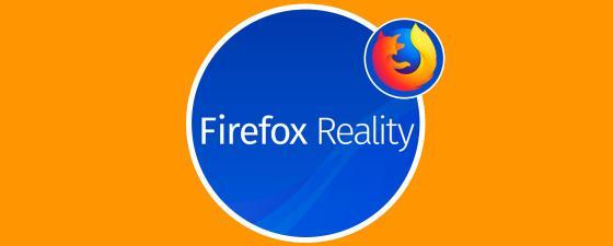 Nuevo navegador VR y AR Firefox Reality