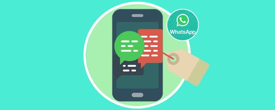 etiquetas en chats de whatsapp