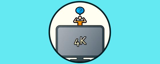Que Tv 4K comprar