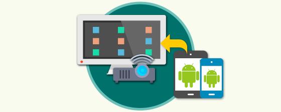 Cómo conectar  tablet  móvil Android a TV o proyector
