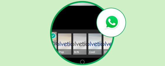 filtros android whatsapp