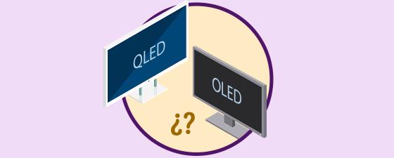 Que es y diferencias entre pantalla QLED y OLED