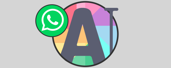 Estados con texto a color whatsapp