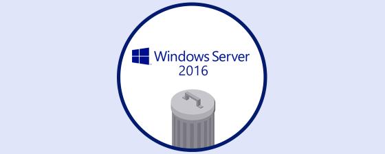 Caracteristicas eliminadas Windows Server 2016