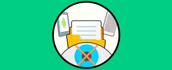 ocultar archivos fotos videos apps iPhone android