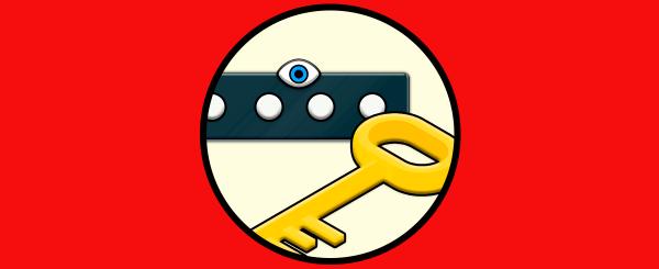 ver contraseñas navegador bajo puntos