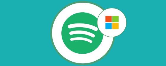 microsoft reproduce música in streaming spotify