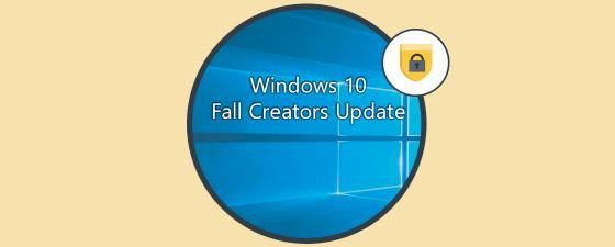fall creators update seguridad