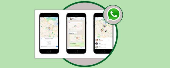 whatsapp compartir ubicacion en vivo