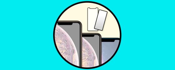 Mejores protectores de pantalla iPhone XR iPhone Xs o iPhone Xs Max (cristal templado)