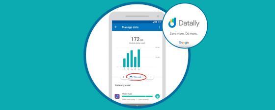 datally aplicación google para android