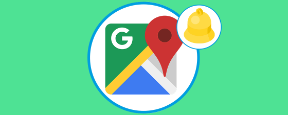 google maps notificaciones en directo