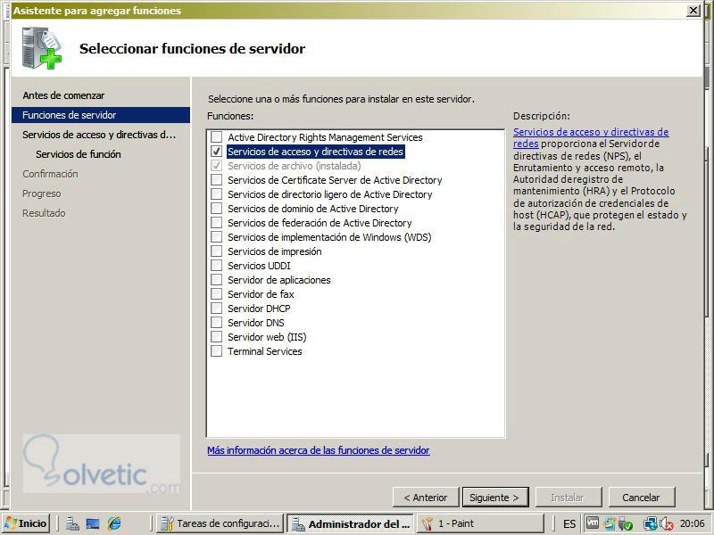 Configuracion de una VPN con Windows Server 2008 - Solvetic