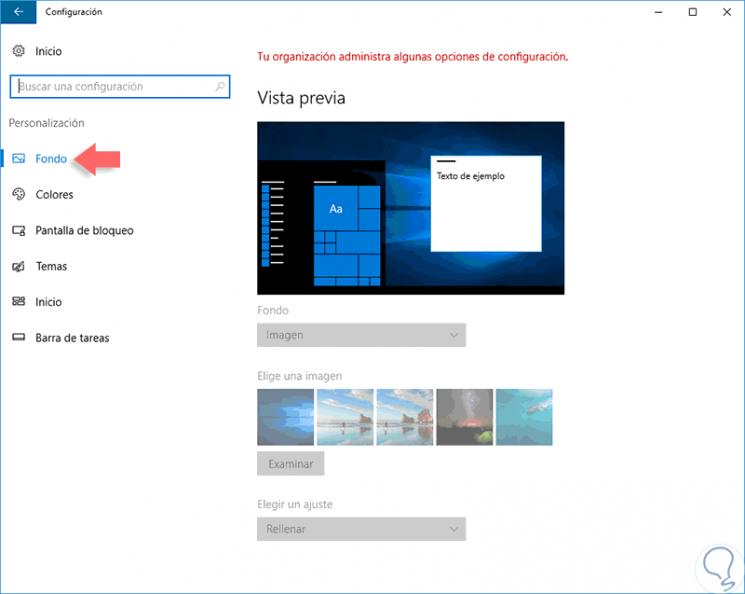 bloquear cambio escritorio con gpo y registro windows 10