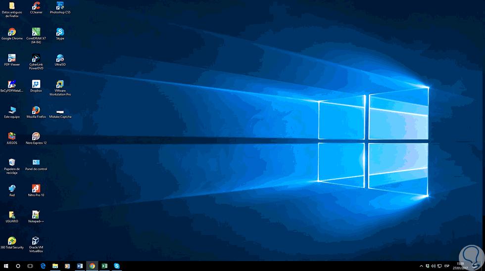 C mo cambiar espacio de iconos escritorio windows 10 - Iconos para escritorio windows ...
