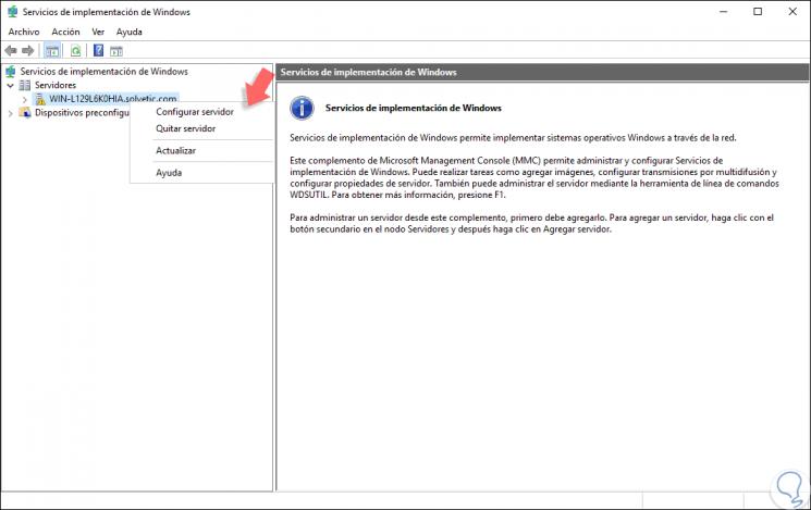 Cómo instalar y configurar WDS en Windows Server 2016 - Solvetic