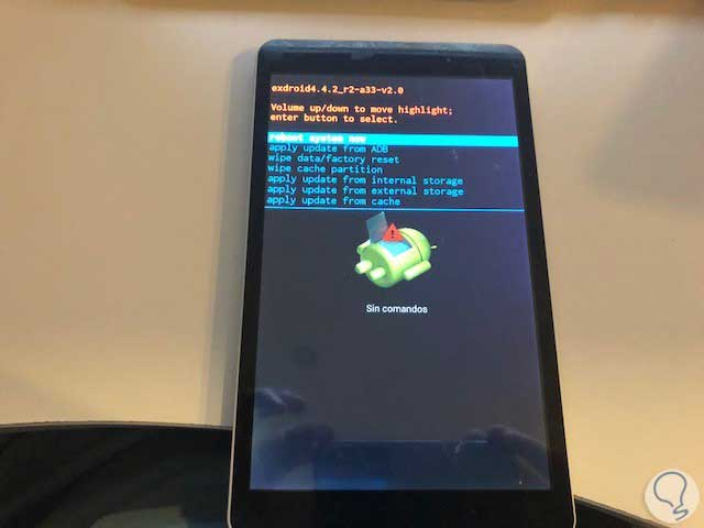 Cómo Hacer Hard Reset De Fábrica Borrar Datos Tablet Onix