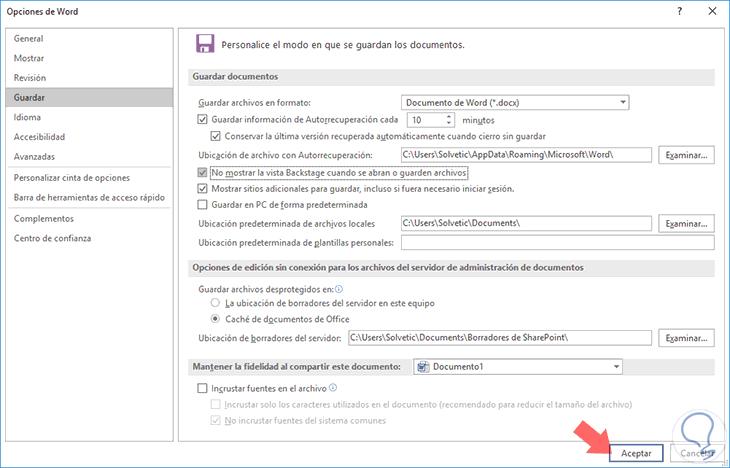 Cómo Recuperar Documentos No Guardados En Microsoft Word 2016 Y Word 2019 Solvetic