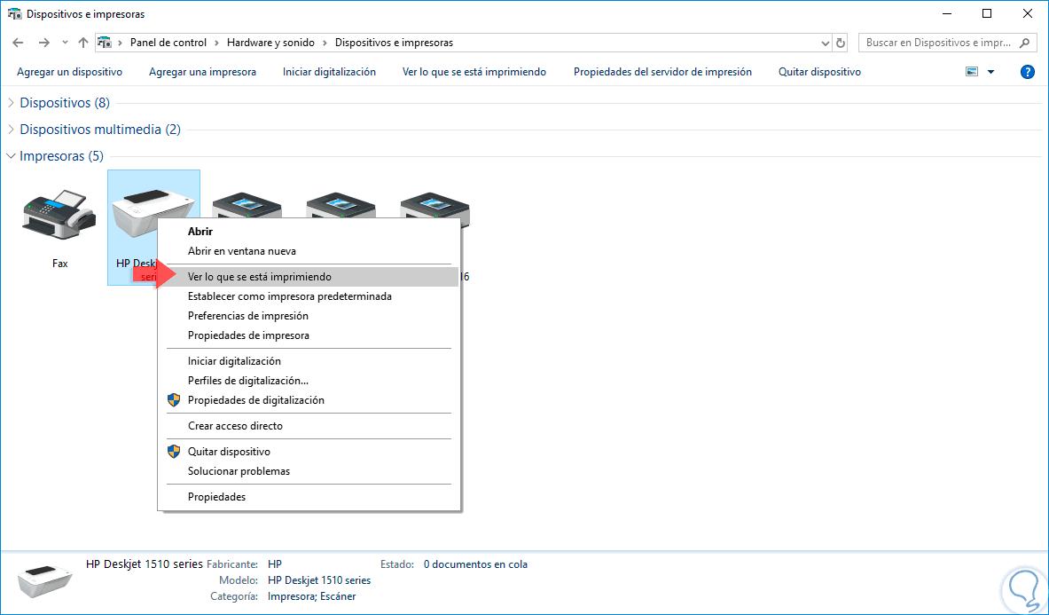 C 243 Mo Activar O Desactivar Impresora En Windows 10 Solvetic