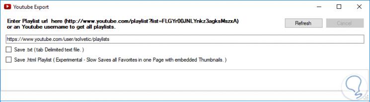 Cómo ver y guardar listado URL de vídeos Youtube de Playlist - Solvetic