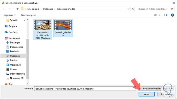 como juntar varios videos en uno mac