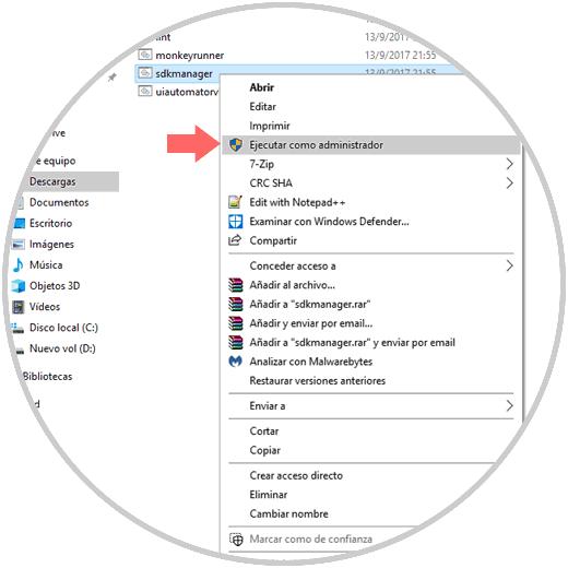 Cómo instalar Android SDK en Windows 10 - Solvetic