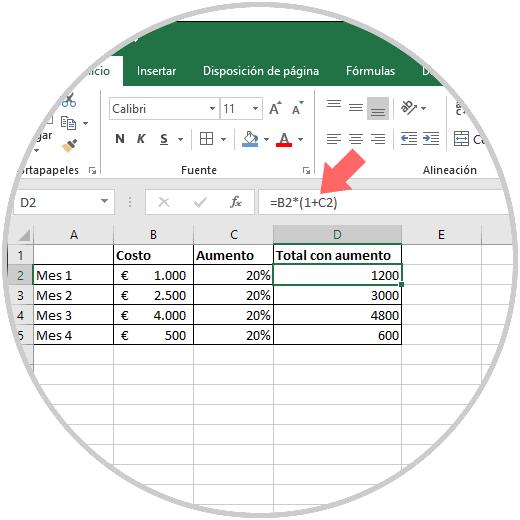 Cómo Sacar Porcentaje En Excel 2019 Solvetic