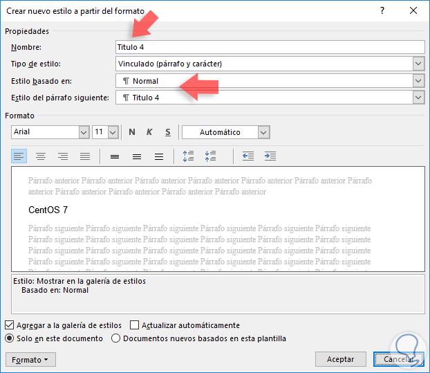Cómo crear y agregar tabla de contenido Word 2016 - Solvetic