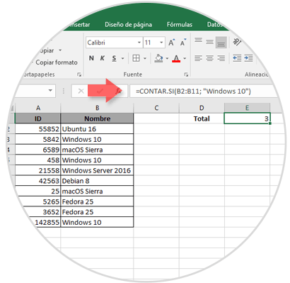 how to use countif in excel 2016