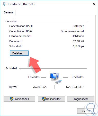 ¿Como puedo rastrear una dirección MAC en la red?