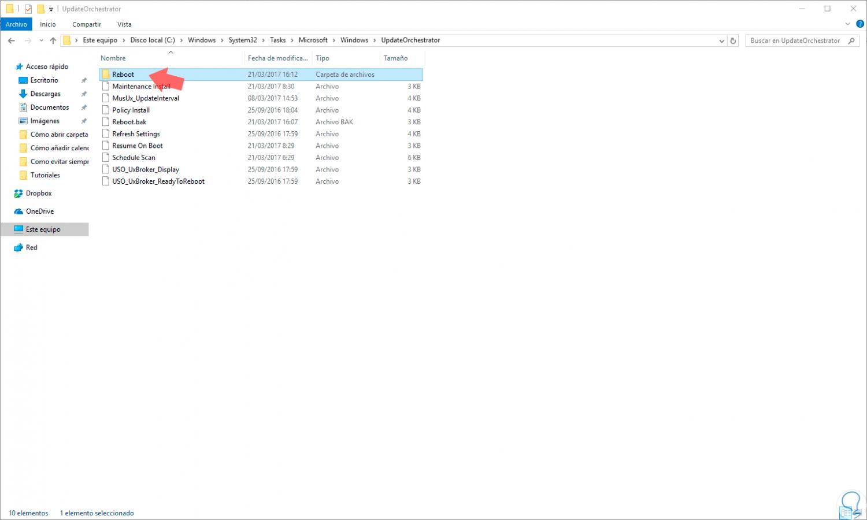 Parar reinicio automático por actualizaciones Windows 10 - Solvetic