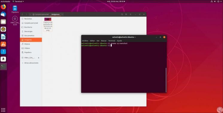 Cómo hacer captura de pantalla en Ubuntu 19 04 - Solvetic