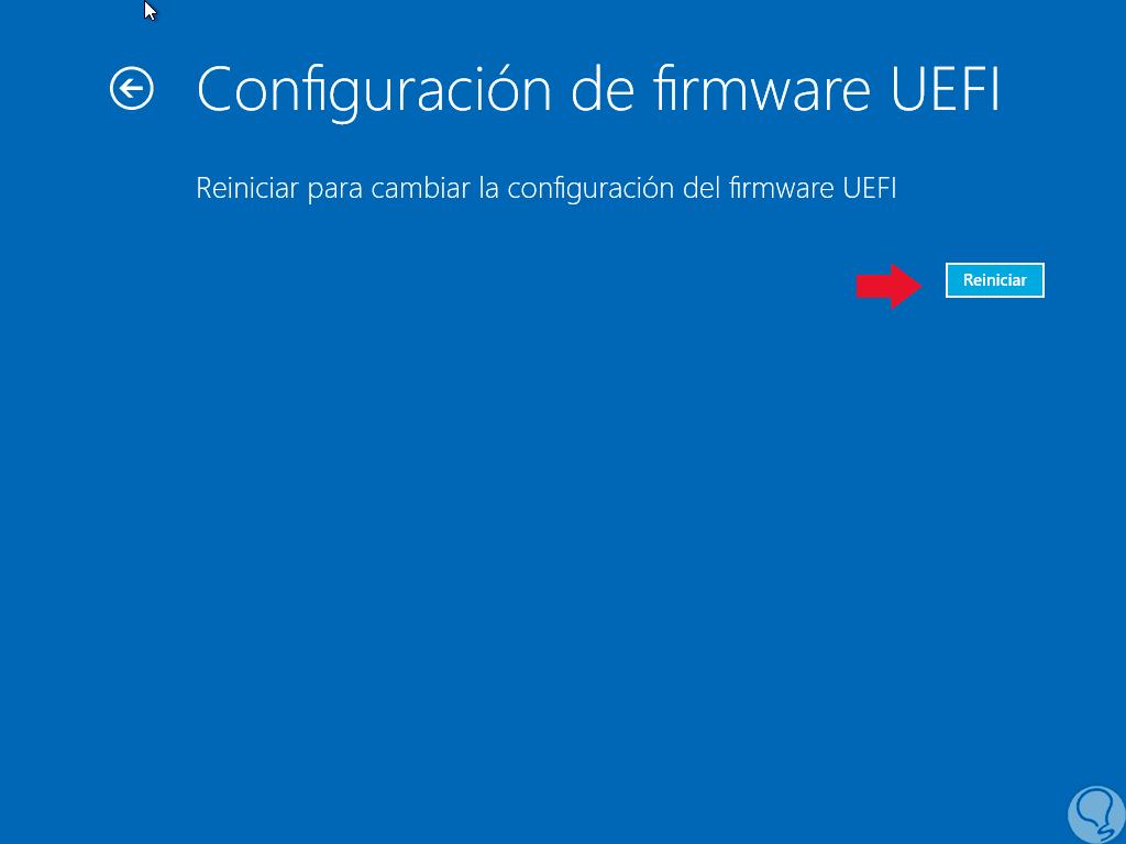 Entrar a BIOS UEFI y cambiar orden arranque boot Windows 10 - Solvetic