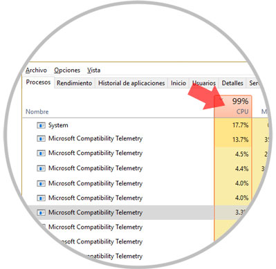 microsoft compatibility telemetry 100 disco windows 8