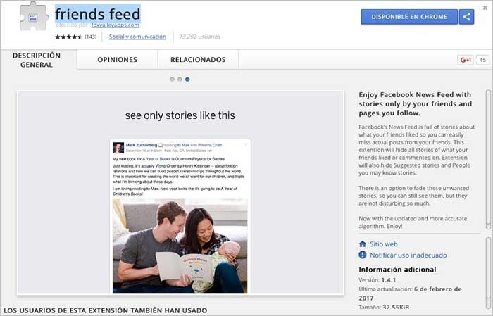 Imagen adjunta: friends-feed-extension-facebook-chrome.jpg