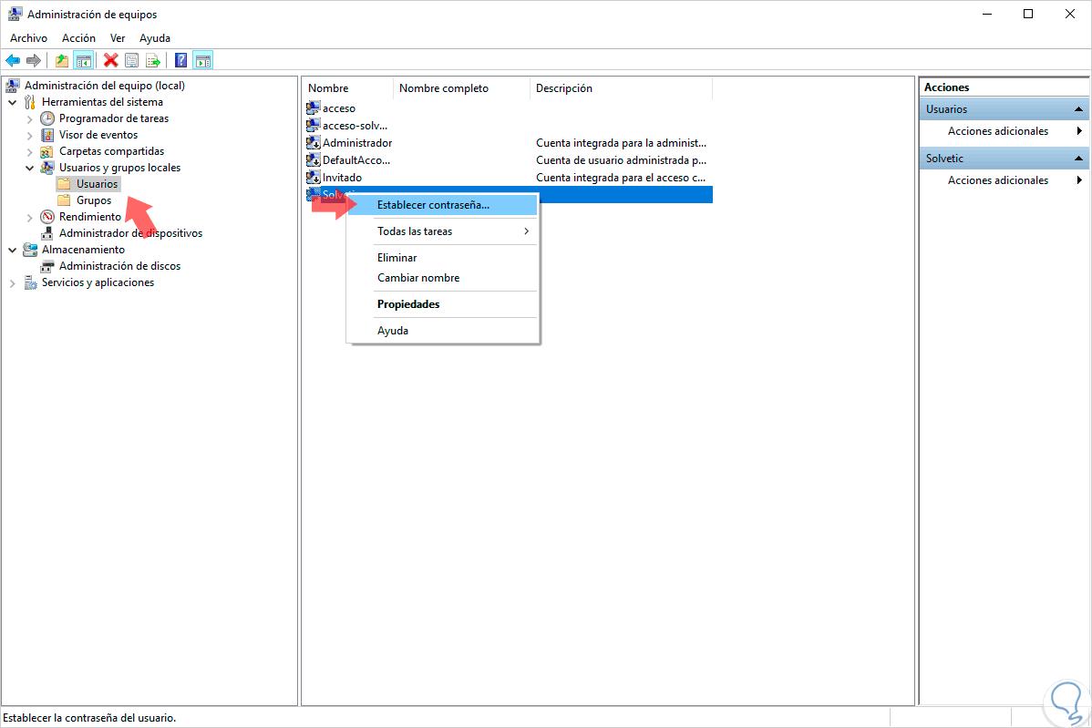Cómo resetear contraseña olvidada Windows 10 sin formatear - Solvetic
