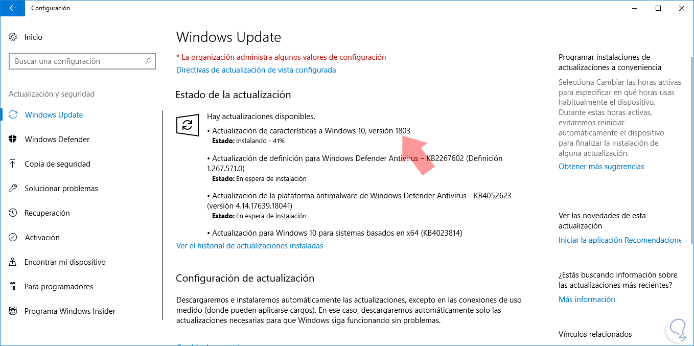 Características, Descargar y Actualizar Windows 10 April 2018 Update ...