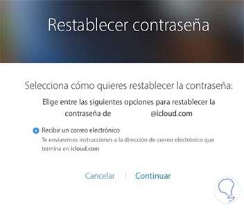 C mo restablecer eliminar o gestionar apple id solvetic - Restablecer contrasena ...
