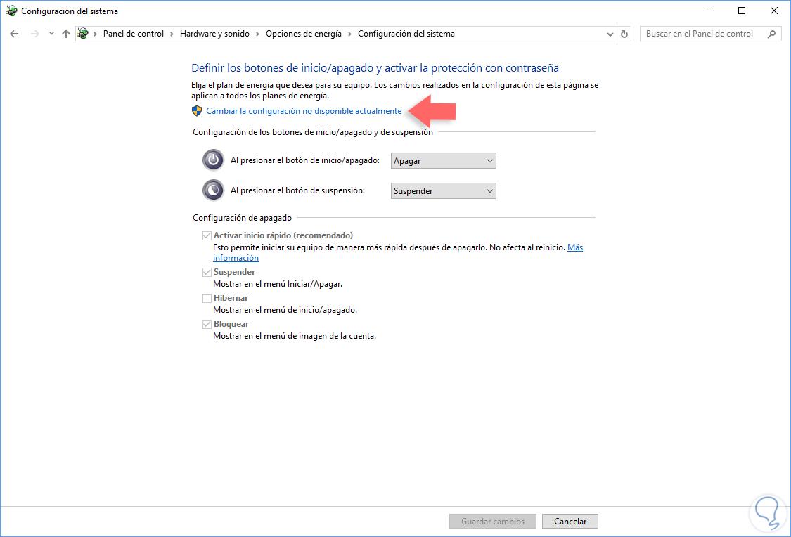 Deshabilitar bloqueo o cerrar sesión en menú inicio Windows 10 ...