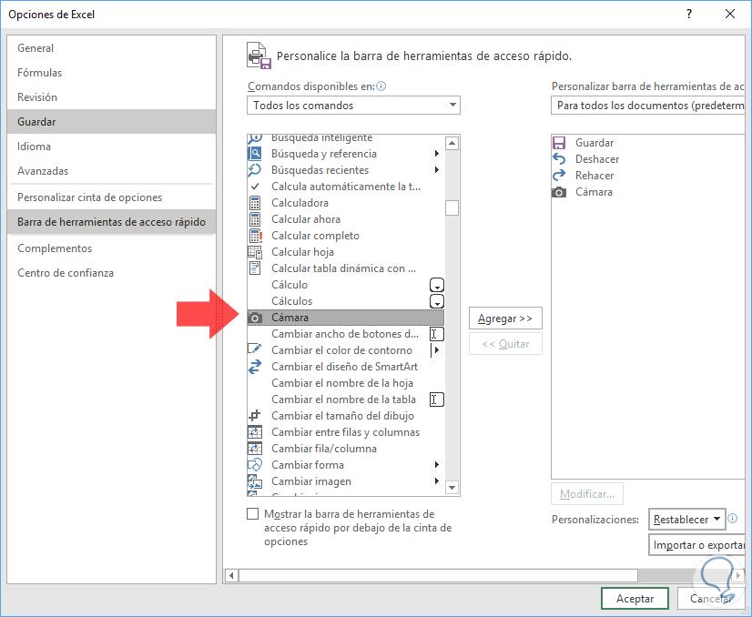 Cómo convertir Excel a imagen JPG, PNG O GIF - Solvetic