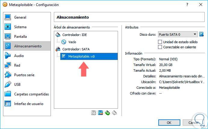 Cómo virtualizar e instalar Metasploitable en VirtualBox - Solvetic